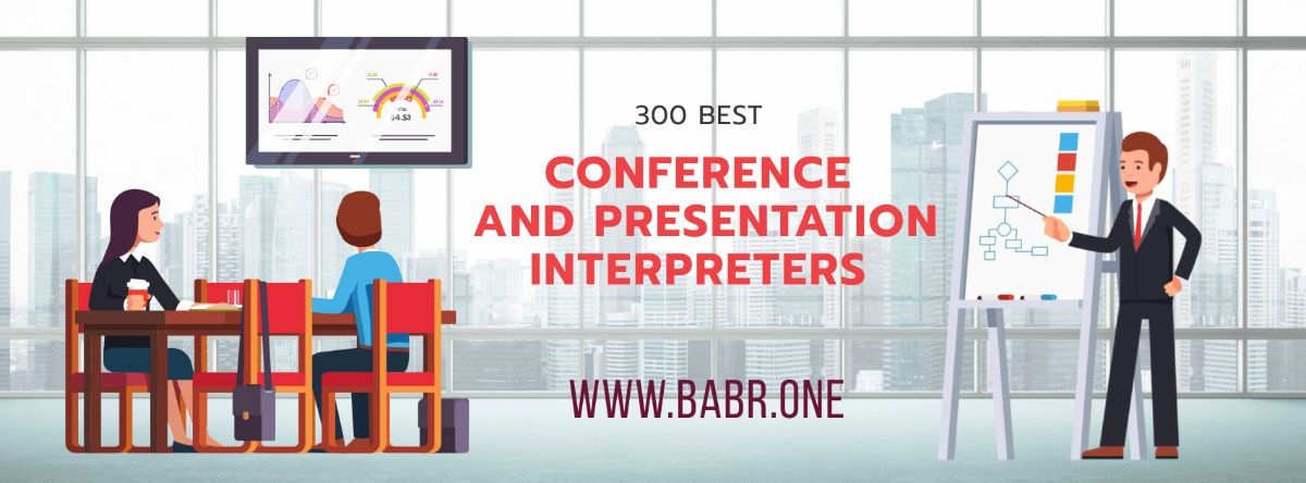 Conference and presentation interpreters from Babr
